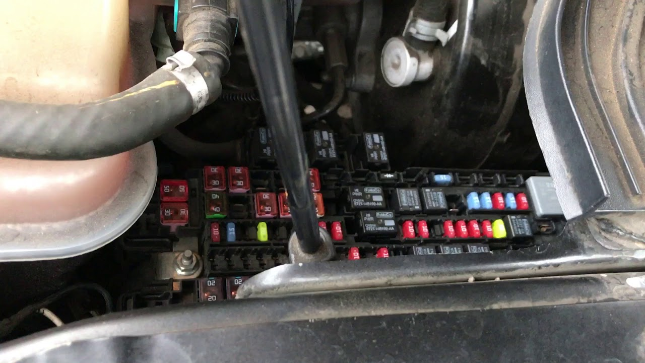F350 Under Hood Fuse Box - Wiring Diagram & Schemas