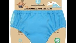 Charlie Banana Cloth Training Pants & Swim Diaper Review