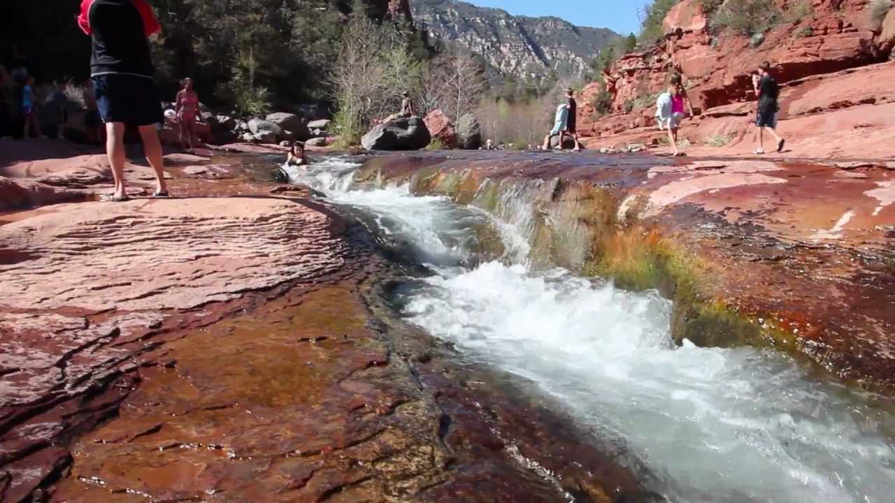 Slides Rock Natural Water Slide Arizona