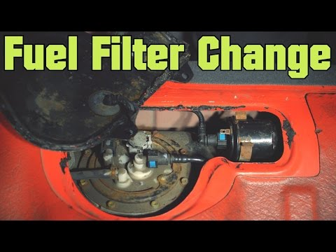 How to Change Fuel Filter - Hyundai Accent