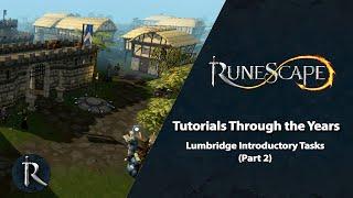 RuneScape's Tutorials Through the Years - Lumbridge Introductory Tasks (pt. 2)