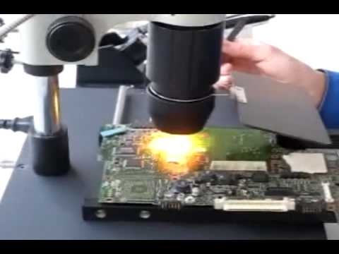 How to... ? Rework ... T-862++ Digital Infrared IRDA Soldering Station - For LaptoP Reballing  -