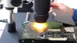 Як... ? Паяльна ... Т-862 інфрачервоний ІК паяльна станція Цифровий++ на ноутбук реболлинга -