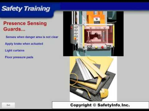 Machine Guard Safety Training Video Course - SafetyInfo.com