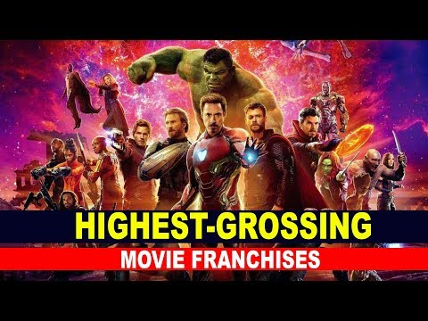 Check out these Highest-Grossing Movie Franchises