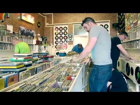 Original Forty Fivers visit Not just a record shop, Eastbourne 2017