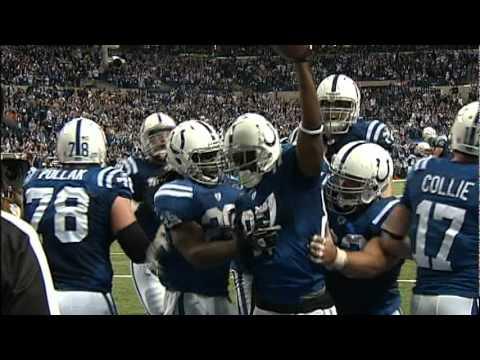 Colts Reggie Wayne TD vs Texans
