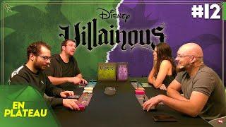 On incarne les méchants Disney dans Villainous avec la femme d'Olivier ! | En Plateau #12