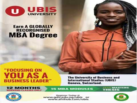 About UBIS MBA