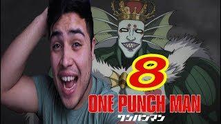 REACCION ONE PUNCH MAN CAPITULO  8 - APARECE EL REY MARINO