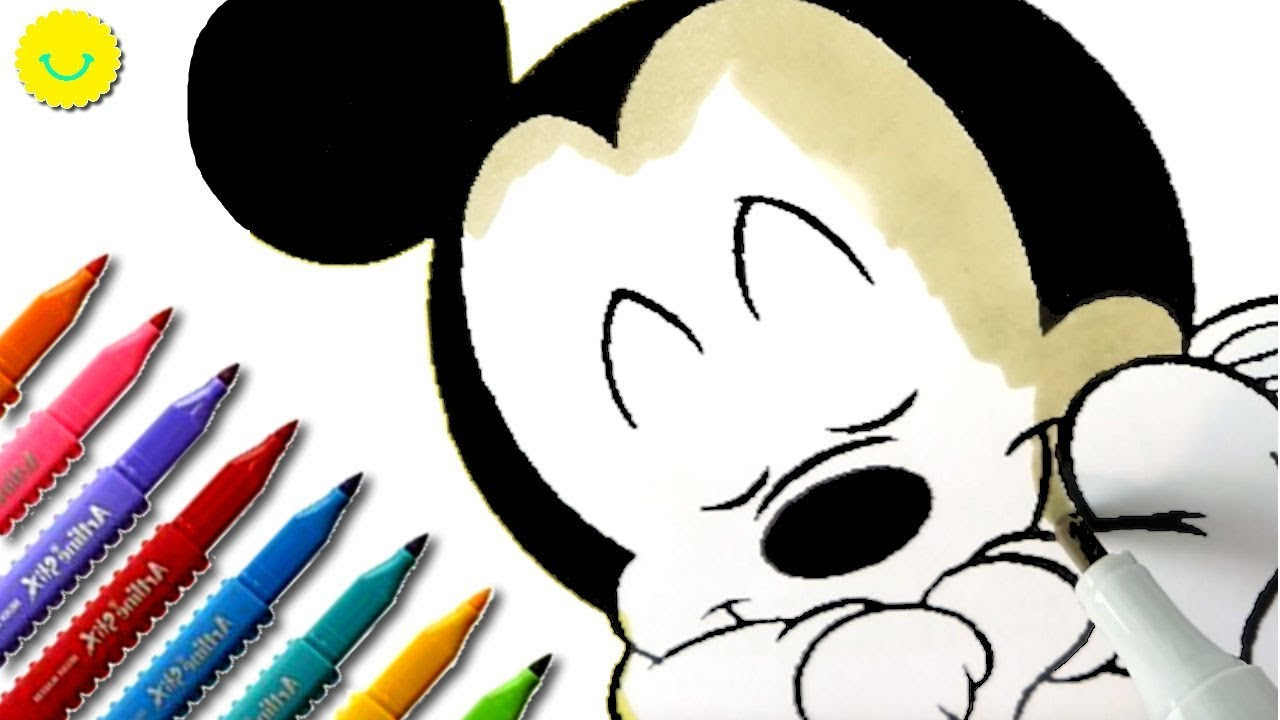 Coloring Pages for Kids My Disney Drawings ⭐