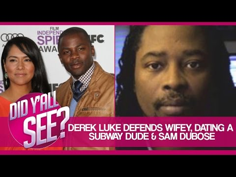Derek Luke Defends Latina Wife, Sam Dubose And More  Did Y'all See