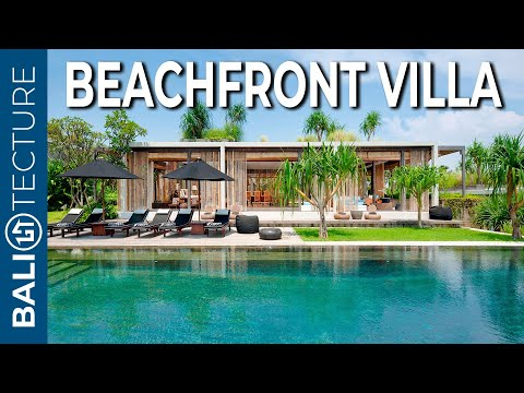 Beach Mansion for ONLY $12,000,000 idr /night | Bali Real Estate | Luxury Homes