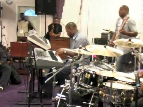 Daniel, Calvin, Maurice & Joey  playin Living word by Fred Hammond @ DCMJ's Las Vegas Clinic