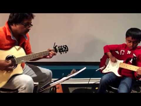 Vidai Kodu Engal Naadae - Guitar Cover by Anjalan - Live Uncut Video