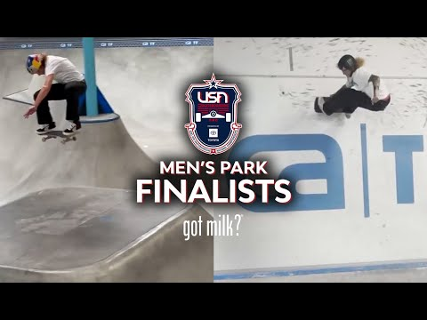 MEN'S PARK FINALISTS | 2021 USA SKATEBOARDING NATIONAL CHAMPIONSHIPS