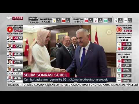 TRT Haber Ana Haber Bülteni 25.06.2018