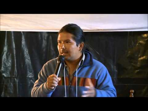 Marlon Santi and Tom Goldtooth RoN Summit Indigenous Voice