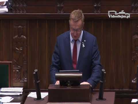 Ryszard Wilczyński  – wystąpienie z 24 listopada 2017 r.