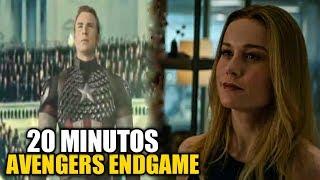 ¡Se filtran 20 minutos de Avengers endgame + descripción y análisis! Trajes cuánticos y más