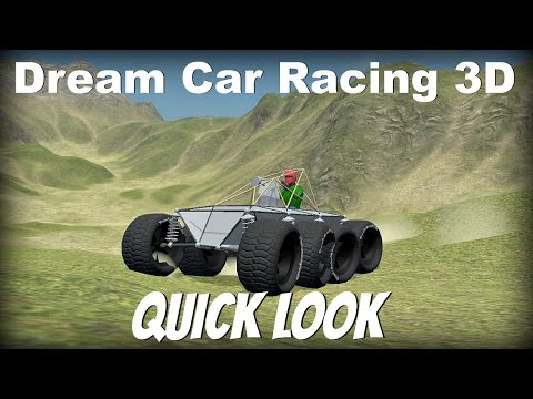 Dream Car Racing 3D- Quick Look- Car Building Game