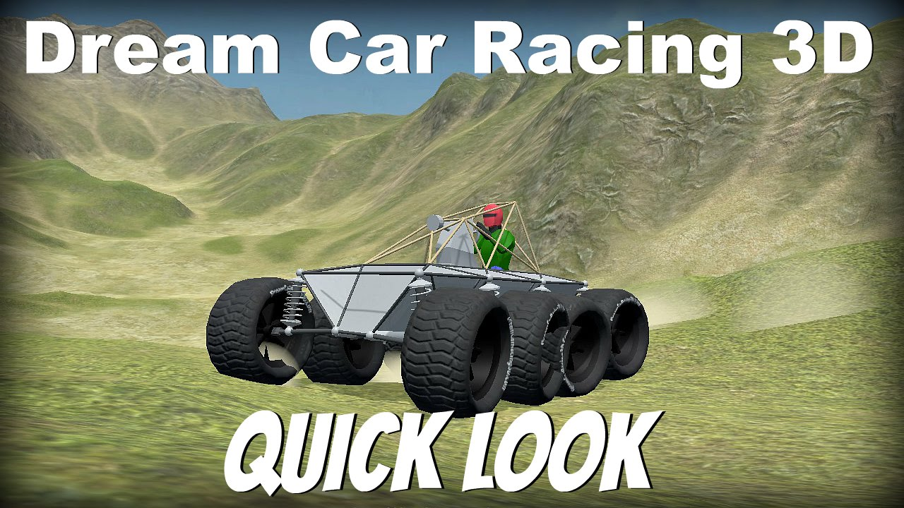 Dream Car Racing 3D- Quick Look- Car Building Game - YouTube