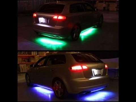 Como Instalar Luces Led Debajo Del Carro Youtube