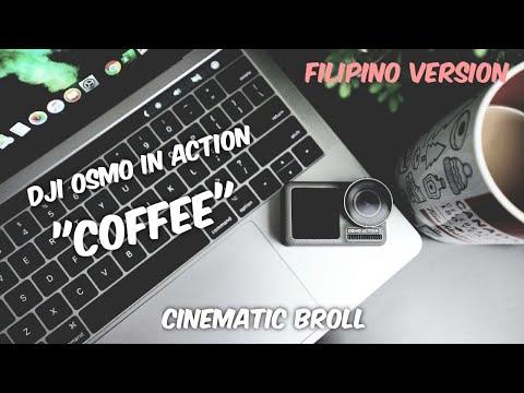 #DJI #OSMOACTION #CINEMATIC Dji Osmo Action | Cinestyle Broll | Coffee