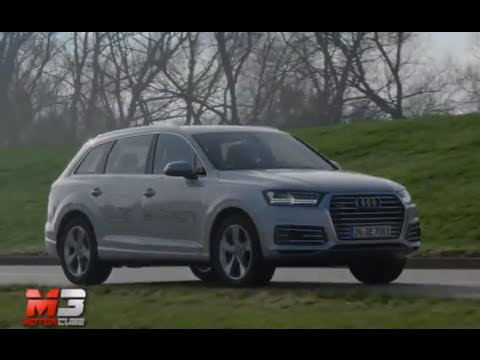 New Audi Q7 E Tron 2017 And R8 V10 Plus On Track Road Only Sound