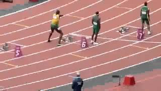 Usain Bolt 200m Race London 2012 Olympics HD
