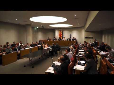 Ple Diputació de Barcelona ordinari  01/10/2015