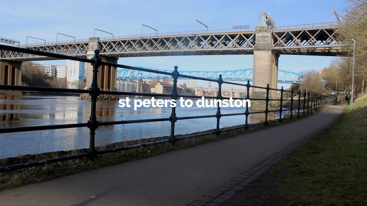 Man with a Pink Pram #2: St Peter's Basin to Dunston