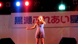 黒瀬ふれあい夏祭り 石井杏奈.