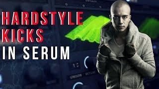 How To Make Hardstyle Kicks In Serum