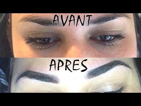 (26) Maquillage permanent sourcils par ombrage