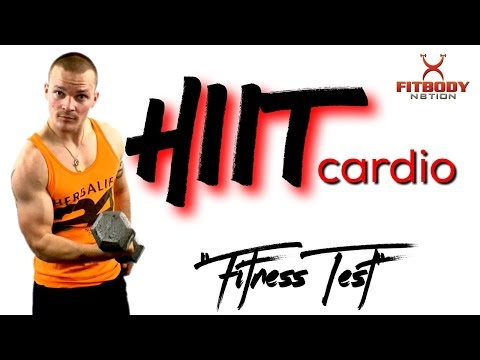 HIIT CARDIO (fitness test)