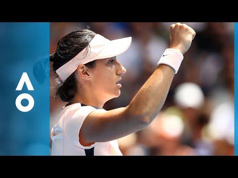 Aliaksandra Sasnovich v Caroline Garcia match highlights (3R) | Australian Open 2018