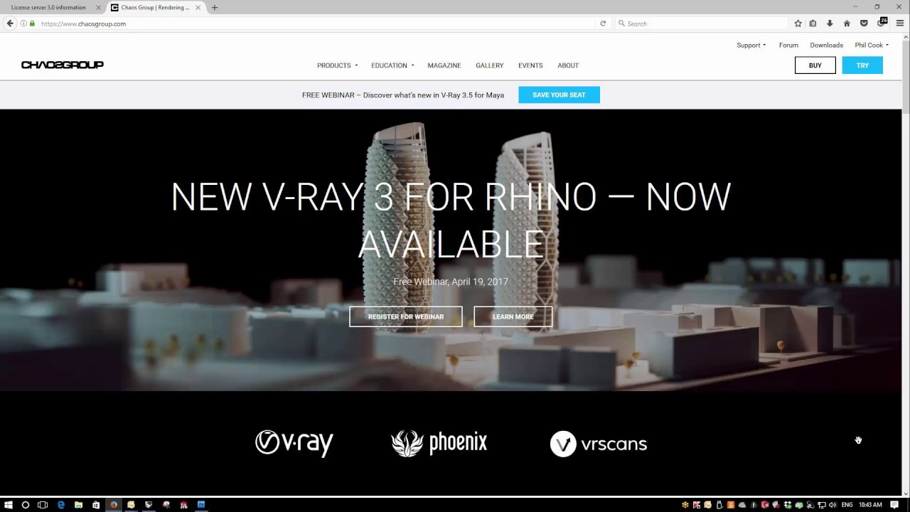 Installing V-Ray for Rhino - Simply Rhino