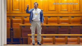 Man Throws Himself from Balcony in Romanian Parliament, Protester Adrian Sobaru