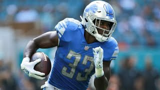 Detroit Lions Will Manage RB Kerryon Johnson Touches Again in 2019?