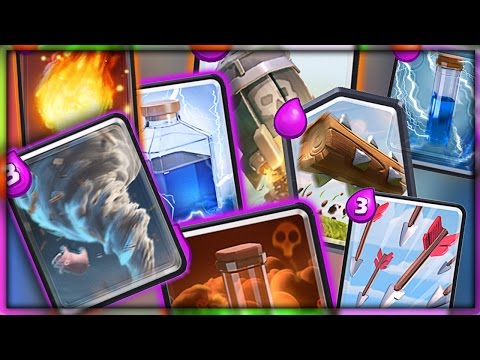 ALL SPELL DECK // Clash Royale 2v2 with Nick!!