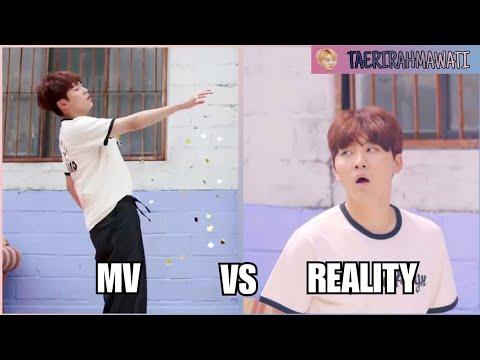 SEVENTEEN MV VS REALITY