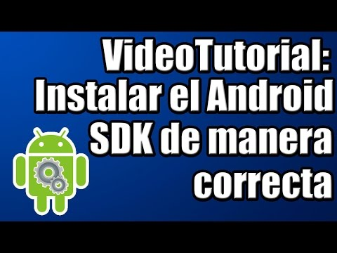 VideoTutorial - Como Instalar El Android SDK [Platform Tools] HD