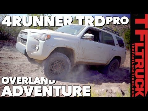 2019 Toyota 4runner TRD Pro Overland Offroad Review (Part 3 of 3)