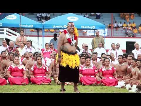 Sanapu Village Performing For American Samoa 2014 Flag Day