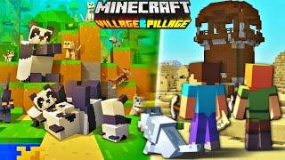 Minecraft PE 1.9 Trailer - Minecraft Pocket Edition Village & Pillage Trailer