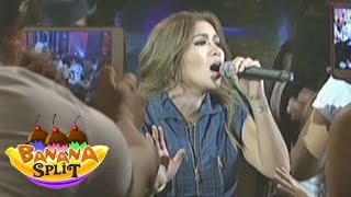 "Angeline Quinto sings ""Titanium"" on Banana Split"