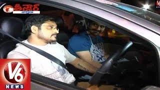 power raviteja friend bvs ravi caught in drunk and drive    teenmaar news