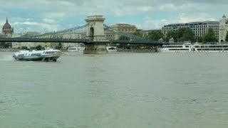 "Budapest; Tragflügelboot ""Sólyom II + III"""