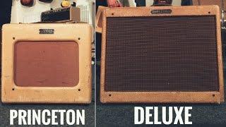 Princeton Vs Deluxe - Original Fender Tweeds
